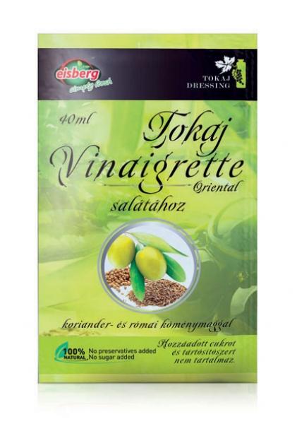 Tokajská orientální octovo-olejová zálivka k salátům, 40 ml